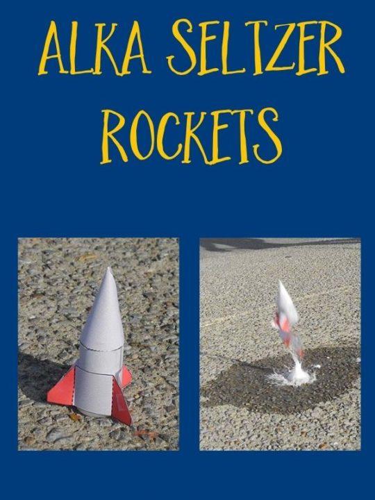 alka seltzer rockets