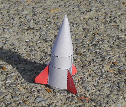 film canister rocket ready for liftoff